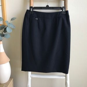 Calvin Klein Navy Business Skirt